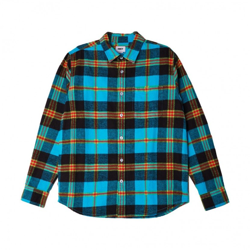 Camisa Obey Orchard Woven