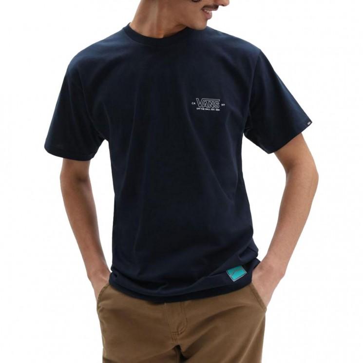 Camiseta Vans MN Sequece SS Azul