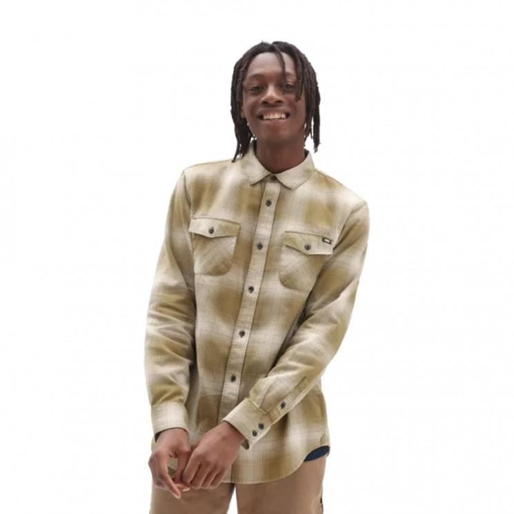 Camisa Vans MN Monterey III Verde