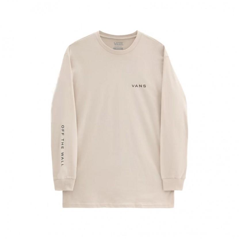 Camiseta Vans MN Snapshot LS Beige