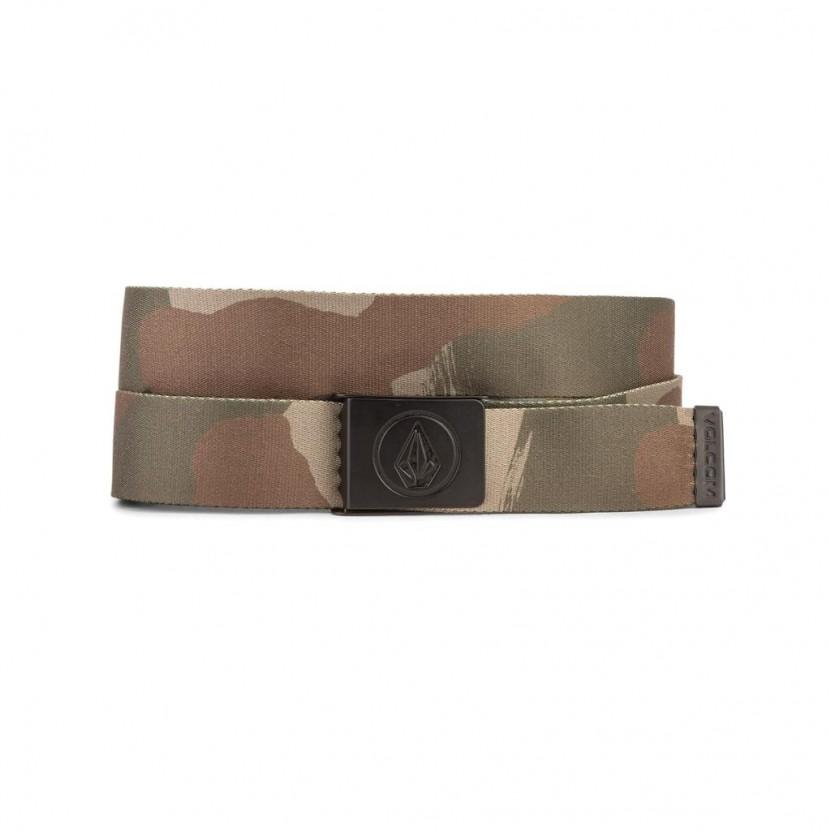 Cinturon Volcom Circle Web Belt Camo