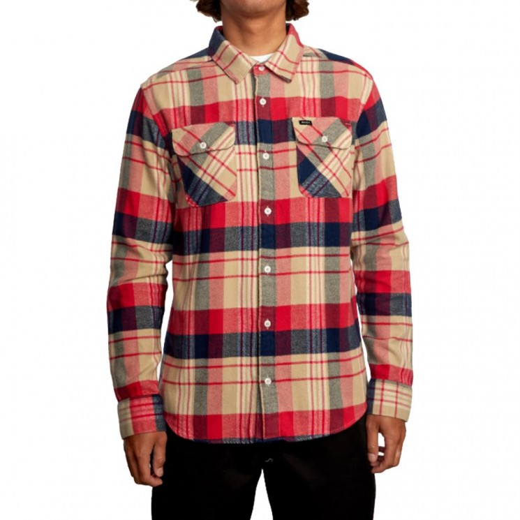 Camisa Rvca That ll Work Flannel