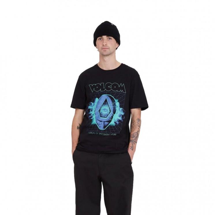 Camiseta Volcom Max Loeffler FA SS Negra