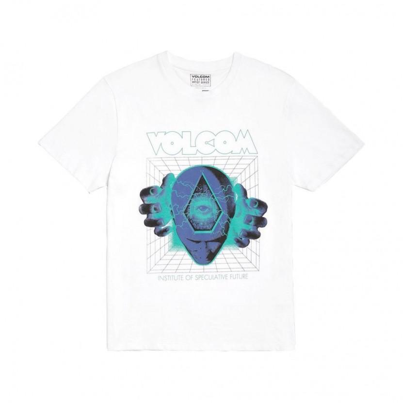 Camiseta Volcom Max Loeffler FA SS Blanca