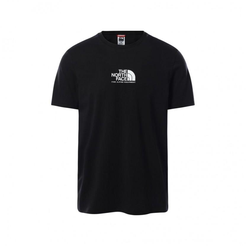 Camiseta The North Face M S S Fine Alpine 3 Negra