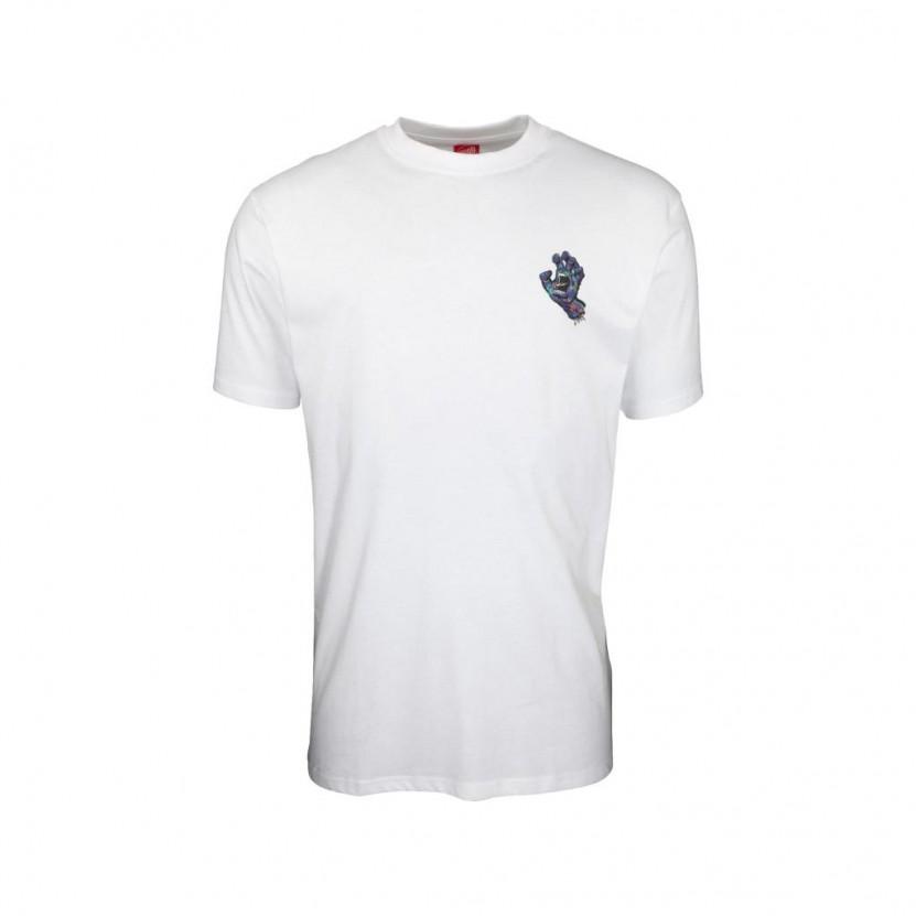 Camiseta Santa Cruz Growth Hand T Shirt Blanca