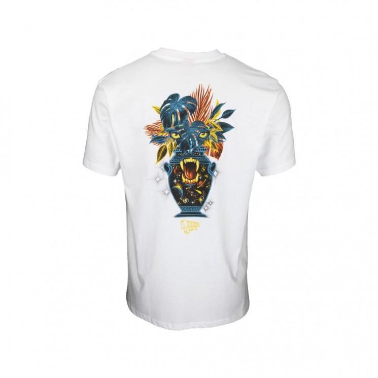 Camiseta Santa Cruz Asta Cosmic Eyes T Shirt Blanca