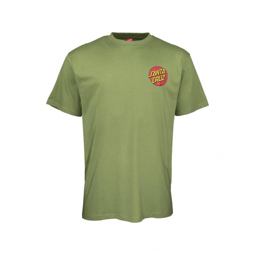 Camiseta Santa Cruz Classic Dot Chest T Shirt