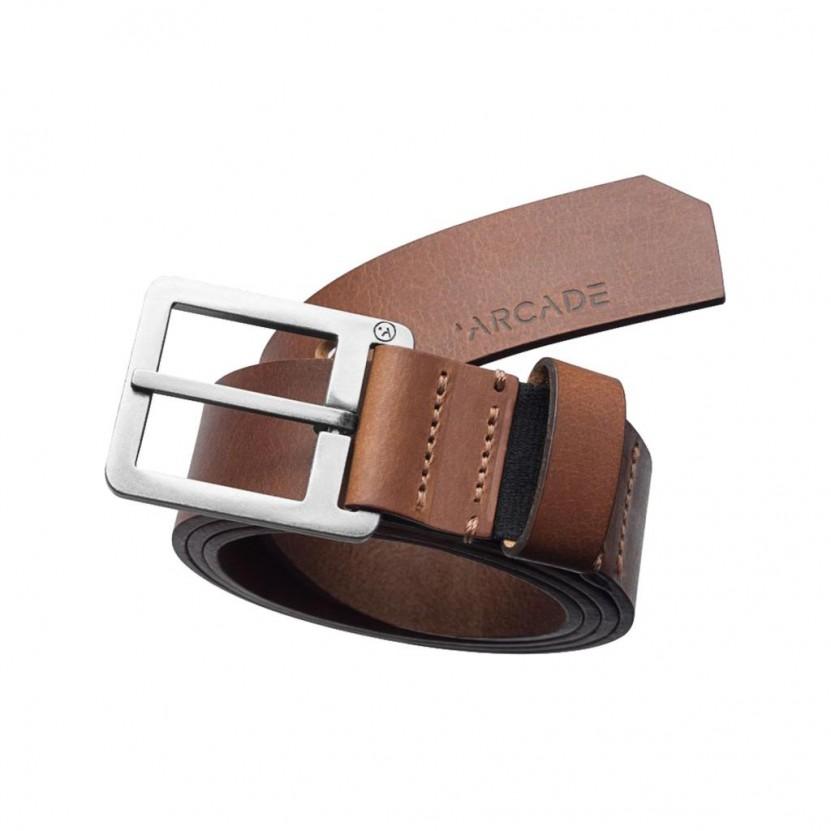Cinturon Arcade Padre Marron